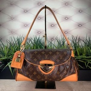 Authenticated Louis Vuitton Beverly MM Restored